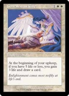 Magic the Gathering Onslaught Single Convalescent Care UNPLAYED (NM/MT)