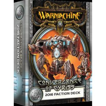 Warmachine: Convergence of Cyriss Faction Deck Box (MKIII)