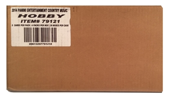 2014 Panini Country Music Hobby 20-Box Case - Miranda Lambert!