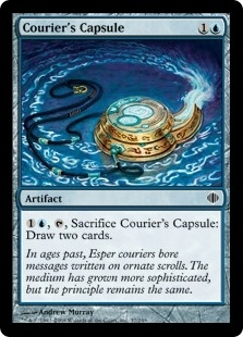 Magic the Gathering Shards of Alara Single Courier's Capsule Foil