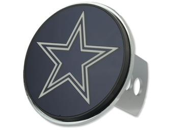 "Dallas Cowboys Rico Industries 4 "" Laser Trailer Hitch Cover"