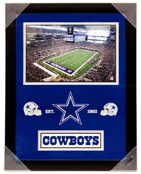 Dallas Cowboys Artissimo Framed 14x18 Framed Plaque