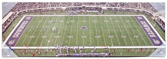 Dallas Cowboys Artissimo 30x10 Panoramic AT&T Stadium Plaque