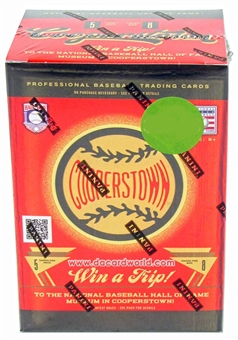 2012 Panini Cooperstown Baseball 8-Pack Box