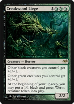 Magic the Gathering Eventide Single Creakwood Liege FOIL