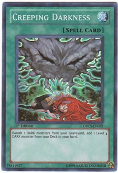 Yu-Gi-Oh Order of Chaos Single Creeping Darkness Super Rare