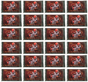 2012 Panini Crown Royale Football Retail Pack (Lot of 24) - LUCK & WILSON ROOKIES!