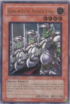 Yu-Gi-Oh Cybernetic Revolution 1st Edition Goblin Elite Attack Force Ultimate Rare