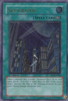 Yu-Gi-Oh Cybernetic Revolution Single Skyscraper Ultimate Rare CRV