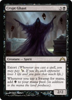 Magic the Gathering Gatecrash Single Crypt Ghast - NEAR MINT (NM)