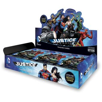 DC Comics Justice League Trading Cards Box (Cryptozoic 2015) (Presell)