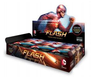 The Flash Season 1 Trading Cards 12-Box Case (Cryptozoic 2016) (Presell)