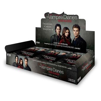 The Vampire Diaries Season 4 Trading Cards 12-Box Case (Cryptozoic 2016) (Presell)