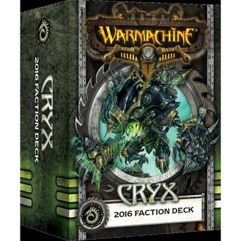 Warmachine: Cryx Faction Deck Box (MKIII) (Presell)