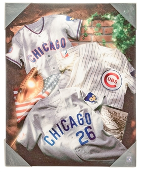 Chicago Cubs Artissimo 16x20 Canvas