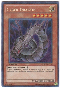 Yu-Gi-Oh Legendary Collection 2 Single Cyber Dragon Secret Rare