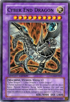 Yu-Gi-Oh Zane Truesdale Single Cyber End Dragon Rare (DP04-EN012)