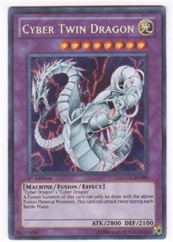 Yu-Gi-Oh Legendary Collection 2 Single Cyber Twin Dragon ...