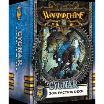 Warmachine: Cygnar Faction Deck Box (MKIII)