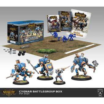 Warmachine: Cygnar Battlegroup Starter Box (MKIII)