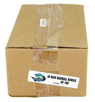 Mixed Baseball Pack Bundle (20 Packs)