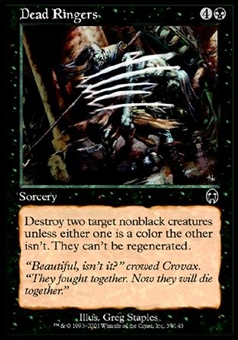 Magic the Gathering Apocalypse Single Dead Ringers Foil