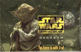 Decipher Star Wars Dagobah Limited Booster Box
