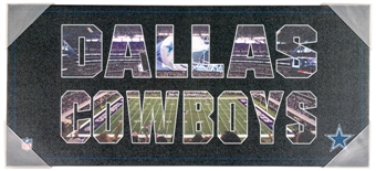 Dallas Cowboys Artissimo Team Pride 12x26 Canvas