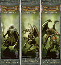 WOTC Dungeons & Dragons Miniatures Archfiends Booster Pack