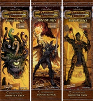 WOTC Dungeons & Dragons Miniatures Deathknell Booster Pack
