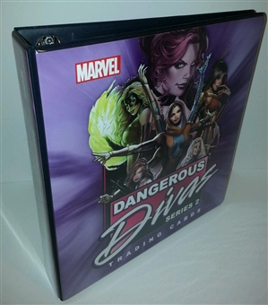 Dangerous Divas Series 2 Trading Cards Album/Binder