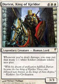 Magic the Gathering Coldsnap Single Darien, King of Kjeldor - NEAR MINT (NM)
