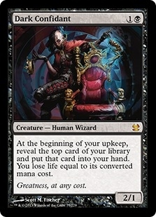 Magic the Gathering Modern Masters Single Dark Confidant Foil