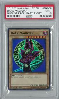 Yu-Gi-Oh! Duelist Pack: Battle City 1st Ed. Dark Magician Ultra Rare PSA 9