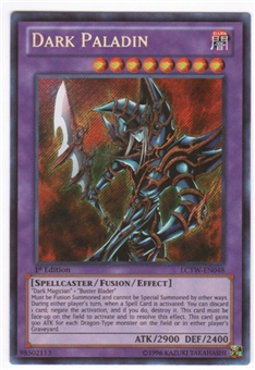 Yu-Gi-Oh Legendary Collection 3 Single Dark Paladin 1st Edition Secret Rare