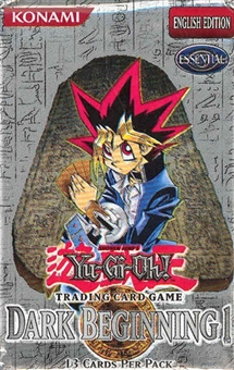 Upper Deck Yu-Gi-Oh Dark Beginning Booster Pack