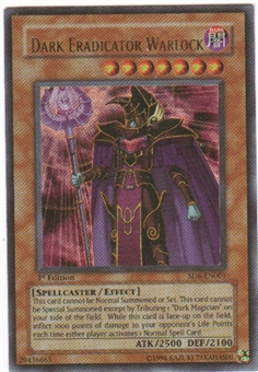 Yu-Gi-Oh SD Spellcaster Single Dark Eradicator Warlock Ultra Rare SD6
