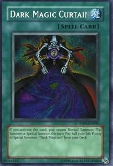 Yu-Gi-Oh Premium Pack 1 Single Dark Magic Curtain Secret Rare