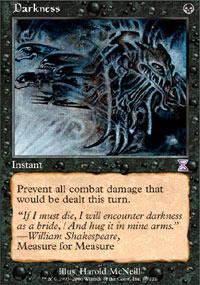 Magic the Gathering Time Spiral Single Darkness - NEAR MINT (NM)