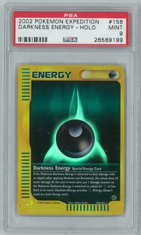 Pokemon Expedition Darkness Energy 158/165 Reverse Foil PSA 9