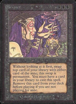 Magic the Gathering Alpha Single Darkpact - NEAR MINT (NM)