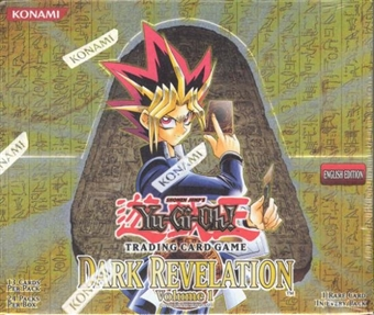 Upper Deck Yu-Gi-Oh Dark Revelation Booster Box