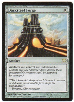 Magic the Gathering Planechase Single Darksteel Forge UNPLAYED (NM/MT)
