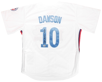 Andre Dawson Autographed Montreal Expos Baseball Jersey (Fanatics)