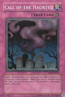 Yu-Gi-Oh Dark Beginning Single Call of the Haunted Super Rare (DB1-EN076)