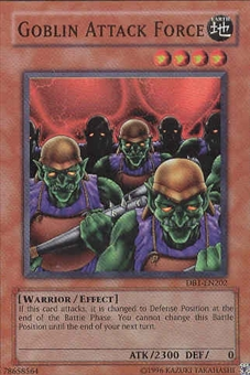 Yu-Gi-Oh Dark Beginning Single Goblin Attack Force Super Rare (DB1- EN202)