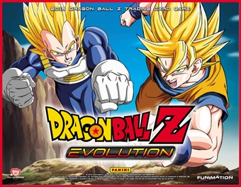 Panini Dragon Ball Z: Evolution Starter 8-Box Case