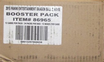Panini Dragon Ball Z: Movie Collection Booster 12-Box Case