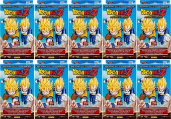 Panini Dragon Ball Z: Evolution Starter Deck (Lot of 10)