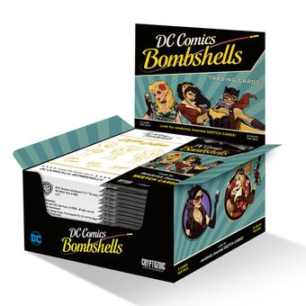 DC Comics Bombshells Trading Cards 12-Box Case (Cryptozoic 2017) (Presell)